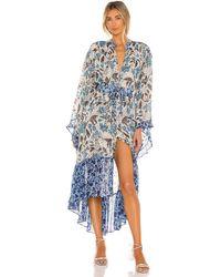 MISA Los Angles Octavia ドレス - ブルー