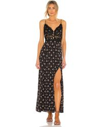 Free People ROBE CARACO OUT AND ABOUT - Noir