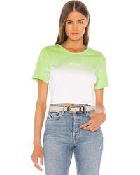 GRLFRND Mini Logo Tシャツ - グリーン