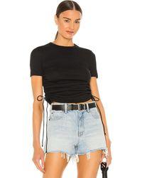 Helmut Lang Cutout Tシャツ - ブラック