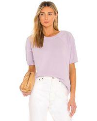 Nili Lotan Свитшот Ciara В Цвете Бледно-лиловый - Пурпурный