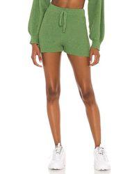 Lovers + Friends Kait Knit Shorts - Green