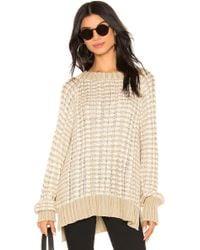 Faithfull The Brand - Teale Knit Sweater In Beige - Lyst