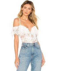 Nbd X Naven Allie Bodysuit - Weiß