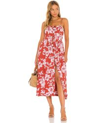 Free People The Perfect Sundress - Red