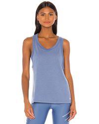 Alo Yoga Model Tank - Blau