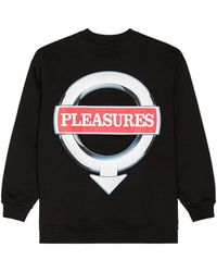 Pleasures Language スウェットシャツ - ブラック