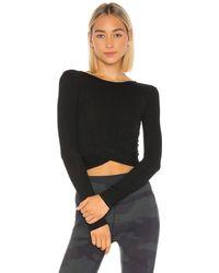 Alo Yoga Cover Tシャツ - ブラック