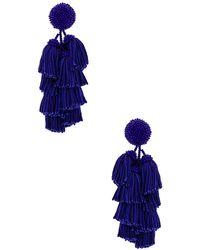 Sachin & Babi - Cha Cha Earrings In Blue. - Lyst