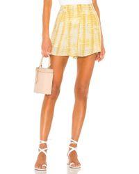 MAJORELLE Hunter Shorts - Yellow