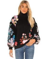 Hemant & Nandita Fleur Sweatshirt - Black