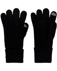 Hat Attack Cable Knit Touch Screen Glove - Black