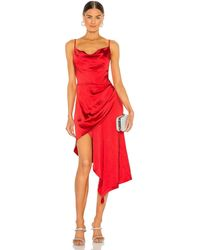Elliatt Платье Jacinda В Цвете Красный Маковый