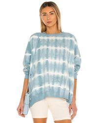 Electric and Rose Bowie Sweatshirt - Blau