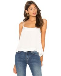 Free People - Move Lightly Cami In White - Lyst