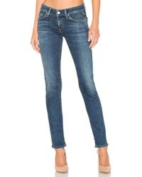 Citizens of Humanity - Racer Low Rise Skinny In Blue - Lyst