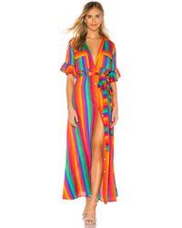 All Things Mochi Vestido camisero leilani - Multicolor