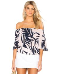 Michael Stars - Paradiso Tiered Top - Lyst