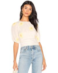 1b6d8e204d803f Free People - My Girl Blouse - Lyst