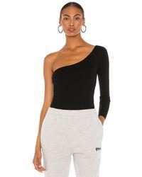 Nbd Azura One Shoulder Sweater - Schwarz