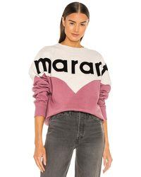 Étoile Isabel Marant Houston スウェットシャツ. Size 36/4, 38/6. - ピンク