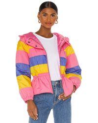 LoveShackFancy Куртка Modena В Цвете Enchanted Rainbow - Розовый