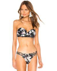 Agua Bendita - Bruna Bikini Top - Lyst