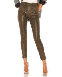 AG Jeans Farrah Skinny Ankle Leatherette スキニーデニム. Size 24,25,26. - マルチカラー