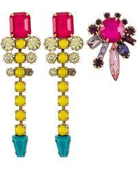 Elizabeth Cole Set pendientes - Multicolor