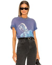 Anine Bing Bowie Tシャツ - ブルー