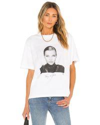 Anine Bing Ida Tee Ab Tシャツ - ホワイト
