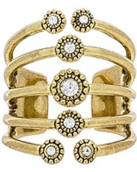 Luv Aj - The Moroccan Stud Statement Ring In Metallic Gold. - Lyst