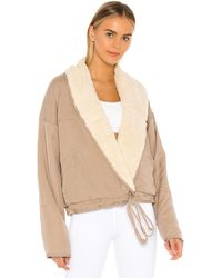 Free People X Fp Movement Mix It Up Reversible Jacket - Natural