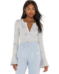 Free People - Layer Me Henley. Size S, M, L. - Lyst