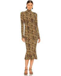 Norma Kamali ドレス In Neutral. Size S, M, L. - マルチカラー