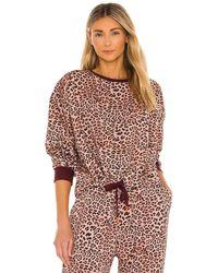 The Upside Leopard スウェットシャツ - ブラウン