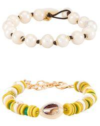 DANNIJO Tova Lyra Bracelet Set - Yellow