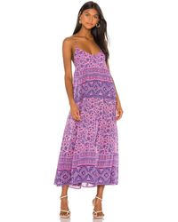 Spell & The Gypsy Collective Journey Strappy Maxi Dress - Purple