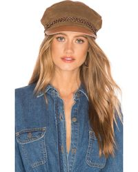 Brixton - Kayla Cap In Taupe - Lyst