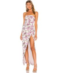 Michael Costello X Revolve Violet Gown - Pink