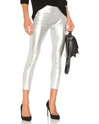 SPRWMN High Waist 3/4 Legging - Metallic