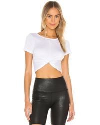 Beyond Yoga Camiseta don't get it twisted - Blanco
