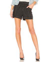 Splendid - Arabesque Shorts In Black - Lyst