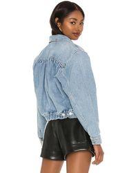 Agolde Куртка Blanca В Цвете Светло-розовый - Синий