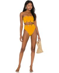 OYE Swimwear Arya Biikini Set - Orange