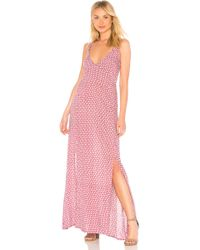 Tiare Hawaii - Millie Open Back Maxi Dress In Pink. - Lyst