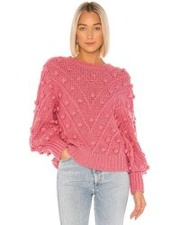 C/meo Collective Trade Places Knit Pullover - Pink