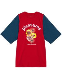 Pleasures - Destruction ショートスリーブtシャツ - Lyst