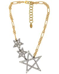 Elizabeth Cole Ожерелье Parker В Цвете Golden Gold - Металлик