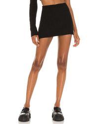 Danielle Guizio ミニスカート - ブラック